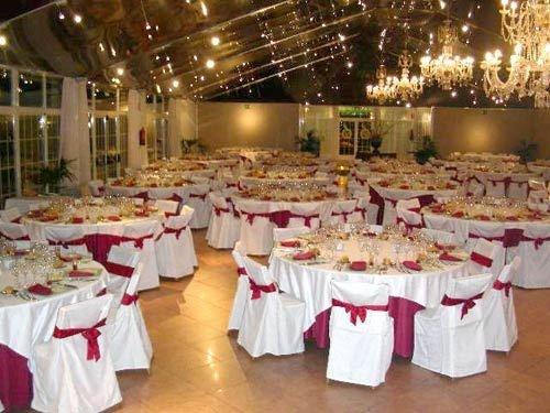 Mesas para banquete